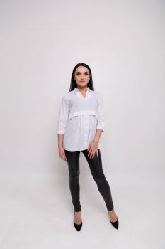 Блузка Тори белая