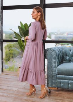 Платье Анита XL-XXL лавандовый