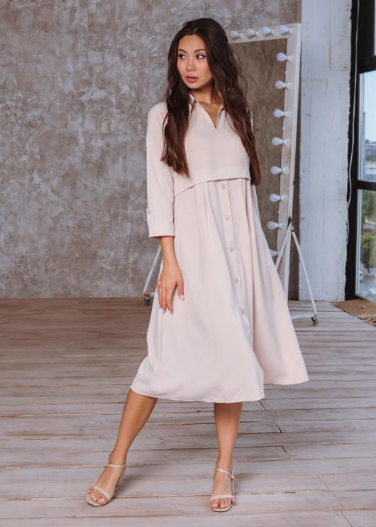 Платье Тори цвет молочный