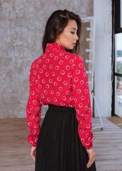 Блузка Алекс цвет красный
