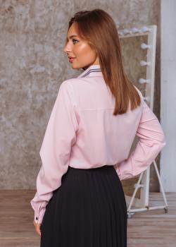 Рубашка Регина цвет светло-розовый