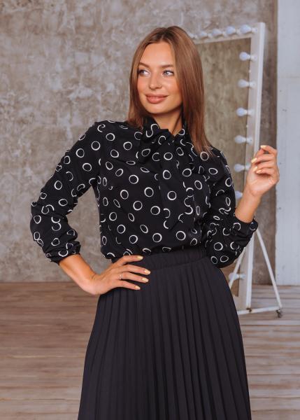 Блузка Алекс цвет черный