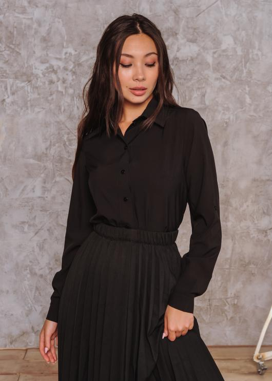 Рубашка Слава черная