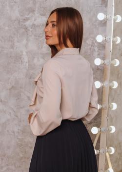 Женская блузка Элла молочная