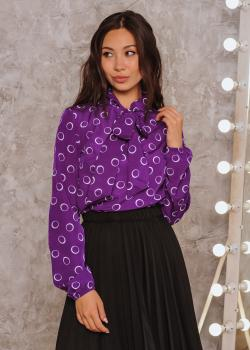 Блузка Алекс цвет фиолетовый
