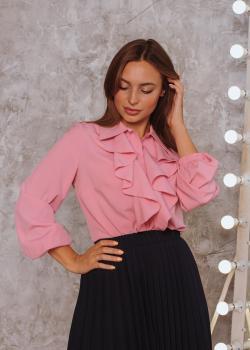 Женская блузка Элла цвет розовый