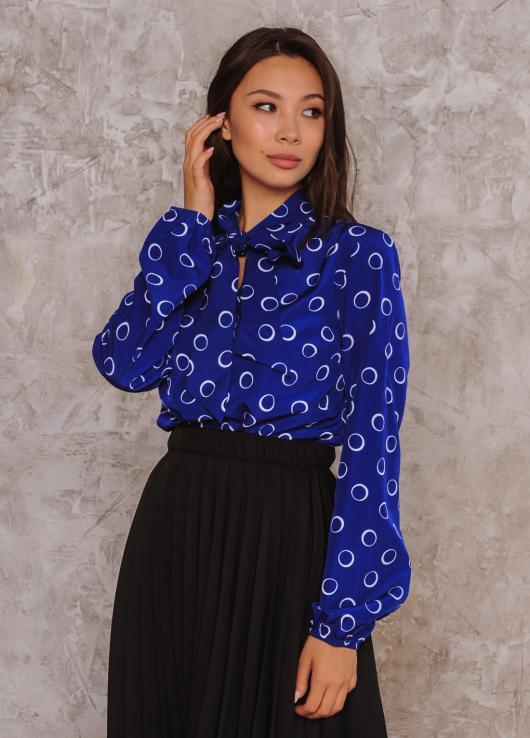 Блузка Алекс цвет синий