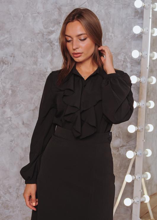Женская блузка Элла черная