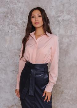Рубашка Слава персиковая