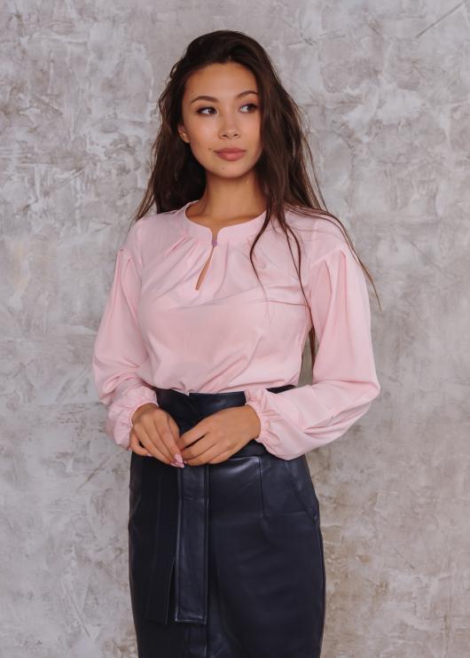 Блузка Камилла розовая