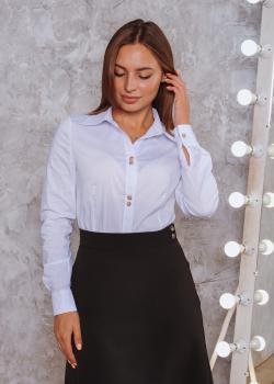 Женская рубашка Римма белая