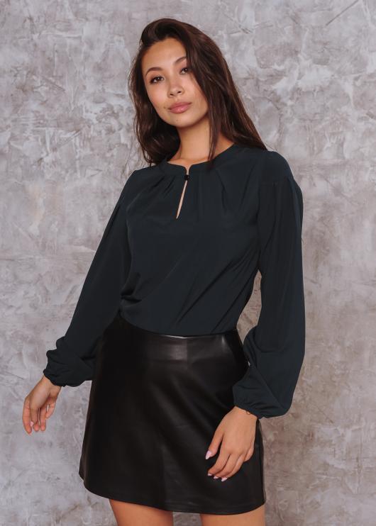 Блузка Алиса цвет черный