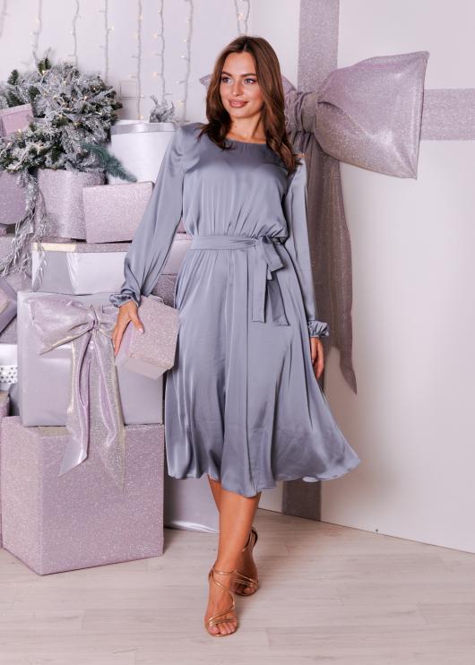 Платье Эльза синее