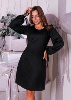 Элегантное женское платье цвет чёрный