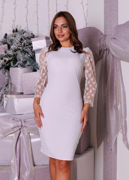 Платье Жаклин белое