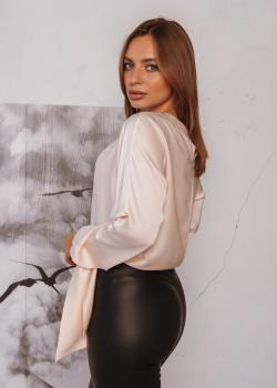 Женская блузка Алина цвет молочный