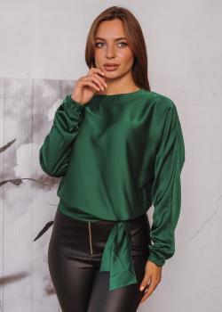 Женская блузка Алина цвет зеленый