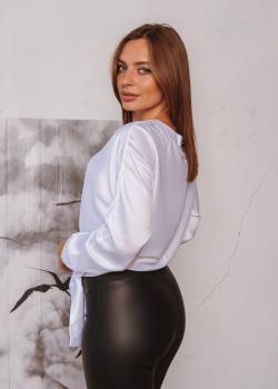 Женская блузка Алина цвет белый