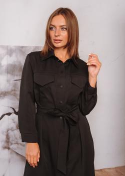 Платье Мария черное
