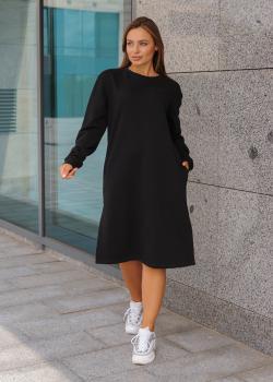 Платье Мили черное