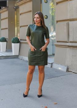 Платье Альфа зеленое