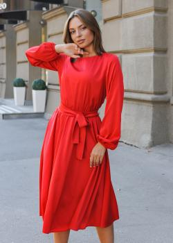 Платье Эльза красное