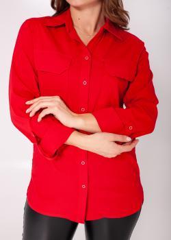 Рубашка Кити красная