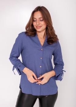 Блузка Ярина синяя