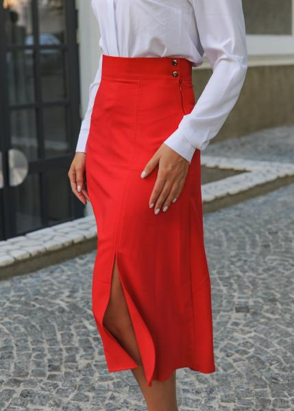 Женская юбка Уля красная