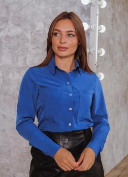 Рубашка Оскар синяя