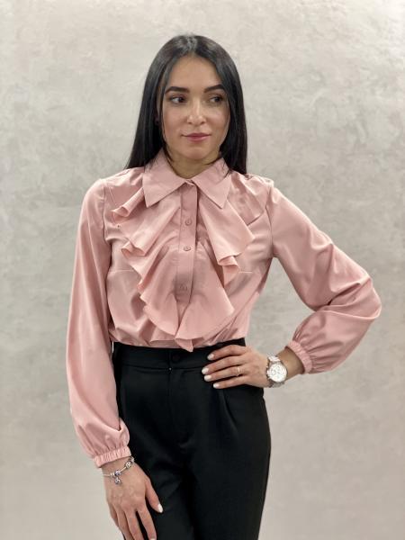 Женская блузка Элла цвет светло-розовый