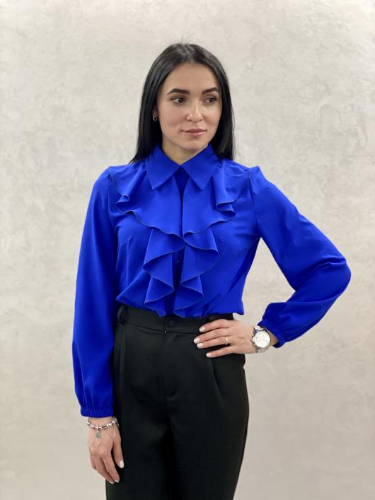 Женская блузка Элла синяя