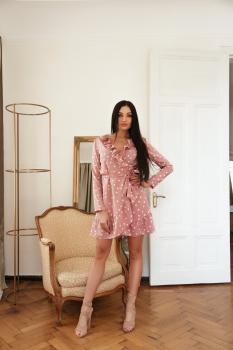 Женское платье Эми цвет розовый