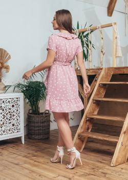 Женское летнее платье Эми розовое