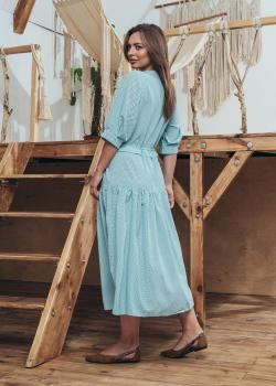 Женское платье Герда цвет голубой