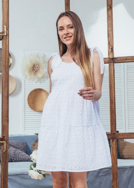 Сарафан Мили цвет белый
