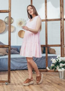 Сарафан Мили светло-розовый