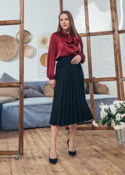 Женская блузка Александра цвет бордовый