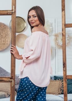 Женская блузка Мара однотон