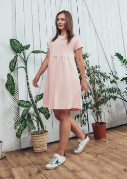 Женское летнее платье Жасмин кремовое