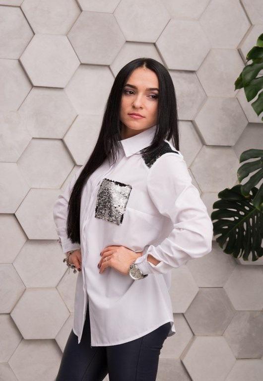 Рубашка Элла белая