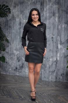 Рубашка Регина цвет черный