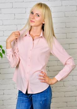Рубашка Слава нежно-розовая