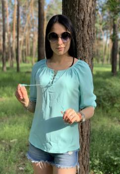 Блузка Злата разные цвета с принтом
